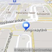 Kartta Pohjola Leppävaara Sello Espoo, Suomi