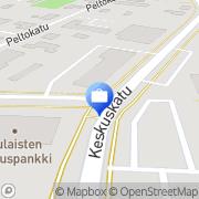 Kartta Pohjola Oulaisten toimisto Oulainen, Suomi