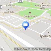 Kartta Otto. käteisautomaatti Hyvinkää, Suomi