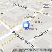 Kartta Tapiola-ryhmä Hyvinkää, Suomi