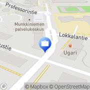 Kartta Very Investing Oy Helsinki, Suomi