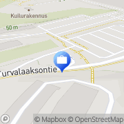 Kartta Suomen Pankki - Maksuvälineosasto Vantaa, Suomi