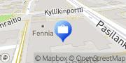 Kartta Fennia Vahinkovakuutus Oy Pääkonttori Helsinki, Suomi