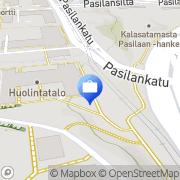 Kartta Nurmisen Sairauskassa Helsinki, Suomi