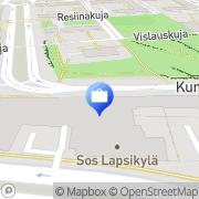 Kartta RIQ Yhtiöt Oy Helsinki, Suomi