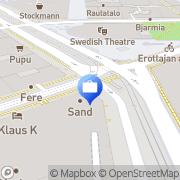 Kartta BusinessFlightSolutions-BFS Oy Ab Ltd. Helsinki, Suomi