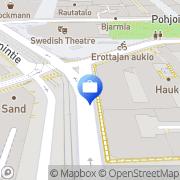 Kartta Tapiola-ryhmä Hki, Erottaja Helsinki, Suomi