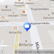Kartta Ålandsbanken Abp, Aleksanterinkatu Helsinki, Suomi