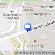 Kartta Omaisuudenhoitoyhtiö Arsenal Oy Helsinki, Suomi