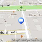 Kartta A.I.M Capital Advisors Oy Helsinki, Suomi