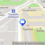 Kartta Nopef Pohjoismaiden Projektivientirahasto Helsinki, Suomi