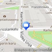Kartta Tilintarkastustoimisto Vanhala Erkki Ky Helsinki, Suomi