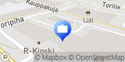 Kartta POP Pankki Järvikylän Osuuspankki Nivala Nivala, Suomi