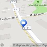 Kartta Otto. käteisautomaatti Lammi, Suomi