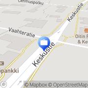 Kartta Otto. käteisautomaatti Oitti, Suomi