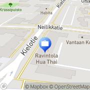 Kartta LähiTapiola Pääkaupunkiseutu, Vantaa Tikkurila Vantaa, Suomi
