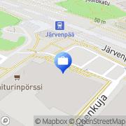 Kartta Otto. käteisautomaatti Kerava, Suomi