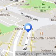 Kartta Sampo Pankki, Keravan konttori Kerava, Suomi