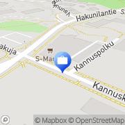 Kartta Otto. käteisautomaatti Vantaa, Suomi