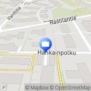 Kartta Jan Holger Gustav Holmberg F:ma Kurkimäki, Suomi