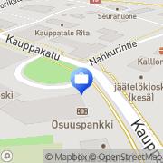 Kartta Otto. käteisautomaatti Saarijärvi, Suomi