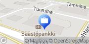 Kartta Helmi Säästöpankki, Padasjoki Padasjoki, Suomi