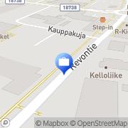 Kartta Pohjola Haukiputaan toimisto Haukipudas, Suomi