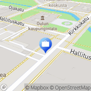 Kartta Nordea Rahoitus Suomi Oy Oulu, Suomi