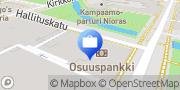 Kartta OP Oulu Yrityskonttori Oulu, Suomi