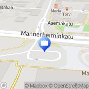 Kartta Otto. käteisautomaatti Lahti, Suomi