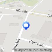Kartta Otto. käteisautomaatti Jääli, Suomi