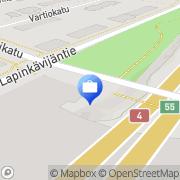 Kartta Otto. käteisautomaatti Rovaniemi, Suomi