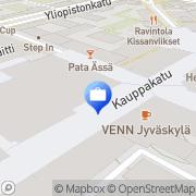 Kartta Sampo Pankki, Jyväskylän konttori Jyväskylä, Suomi