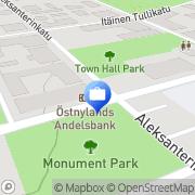 Kartta Otto. käteisautomaatti Loviisa, Suomi