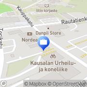 Kartta Otto. käteisautomaatti Kausala, Suomi