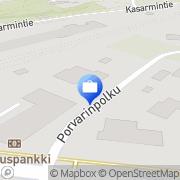 Kartta Otto. käteisautomaatti Koria, Suomi
