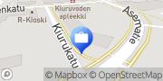 Kartta Säästöpankki Optia, Kiuruvesi Kiuruvesi, Suomi