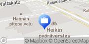 Kartta Keskinäinen Vakuutusyhtiö Turva, Kouvola-Kuusankoski Kuusankoski, Suomi