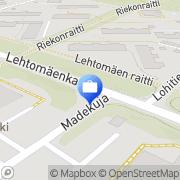 Kartta Otto. käteisautomaatti Kouvola, Suomi