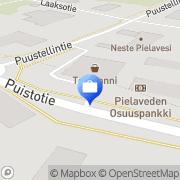 Kartta Pohjola Pielaveden palvelupiste Pielavesi, Suomi