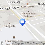 Kartta Pohjola Pieksämäen toimisto Pieksämäki, Suomi