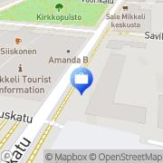 Kartta Otto. käteisautomaatti Mikkeli, Suomi
