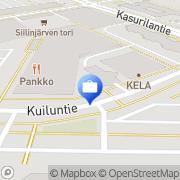 Kartta Otto käteisautomaatti Siilinjärvi, Suomi