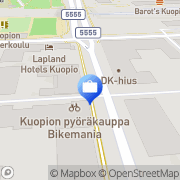 Kartta Fennia Kuopio, Suomi