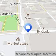 Kartta Yrittäjien Eläkekassa OMA Kuopio, Suomi