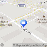 Kartta Pohjola Juvan palvelupiste Juva, Suomi