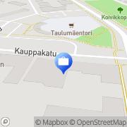 Kartta OP-Pohjola-ryhmä, Varkauden Osuuspankki Varkaus, Suomi
