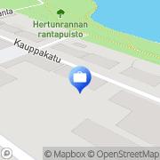 Kartta Tapiola-ryhmä Varkaus, Suomi