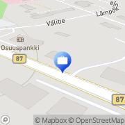 Kartta Otto. käteisautomaatti Rautavaara, Suomi