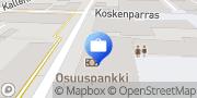 Kartta Etelä-Karjalan Osuuspankki Imatrankosken konttori Imatra, Suomi
